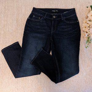 Riders Lee Curvy-Fit Skinny Dark Wash 10P Jeans